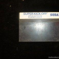 Videojuegos y Consolas: SUPER KICK OFF - SEGA, MASTER SYSTEM. Lote 56882699