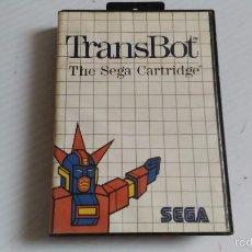 Videojuegos y Consolas: MASTER SYSTEM JUEGO TRANSBOT. Lote 57077805