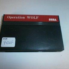 Videojuegos y Consolas: OPERATION WOLF SEGA MASTER SYSTEM SOLO CARTUCHO . Lote 58526097