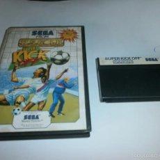 Videojuegos y Consolas: SUPER KICK OFF SEGA MASTER SYSTEM. Lote 58545701