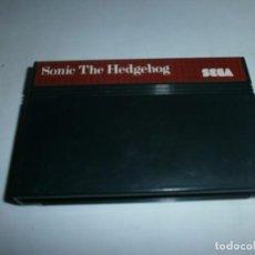Videojuegos y Consolas: SONIC THE HEDGEHOG SEGA MASTER SYSTEM SOLO CARTUCHO . Lote 64928887