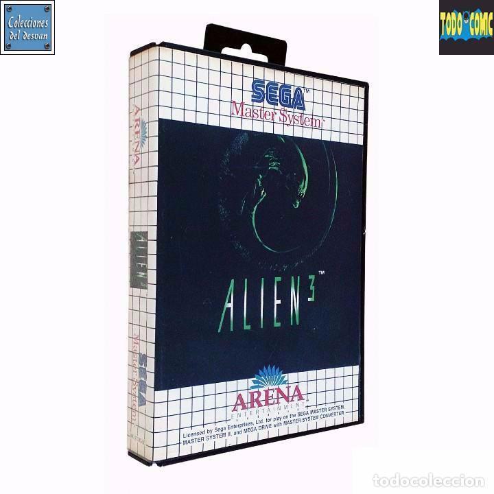 ALIEN 3 / JUEGO MASTER SYSTEM / PAL / SEGA 1992 (Juguetes - Videojuegos y Consolas - Sega - Master System)