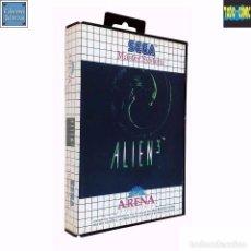 Videojuegos y Consolas: ALIEN 3 / JUEGO MASTER SYSTEM / PAL / SEGA 1992. Lote 66215846