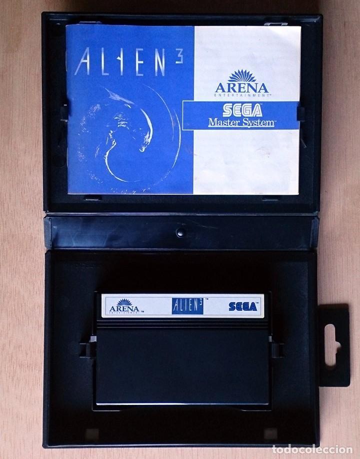 Videojuegos y Consolas: Alien 3 / Juego Master System / PAL / Sega 1992 - Foto 3 - 66215846