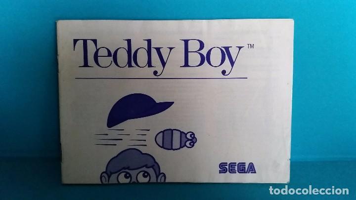 MANUAL DE INSTRUCCIONES SEGA MÁSTER SYSTEM TEDDY BOY (Juguetes - Videojuegos y Consolas - Sega - Master System)