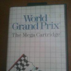 Videojuegos y Consolas: JUEGO WORLD GRAND PRIX PARA SEGA MASTER SYSTEM I Y II. Lote 69030421