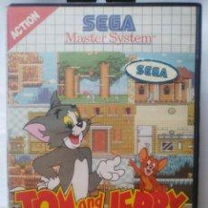 Videojuegos y Consolas: TOM Y JERRY THE MOVIE. JUEGO SEGA MASTER SYSTEM. SIN MANUAL.. Lote 70010973