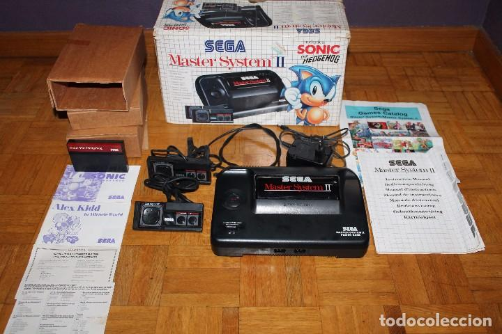Master System Ii Sega Consola Caja Instruccione Comprar