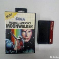 Videogiochi e Consoli: MICHAEL JACKSON'S MOONWALKER - SEGA MASTER SYSTEM - PAL - MS SMS. Lote 80832679