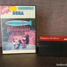 Videojuegos y Consolas: JUEGO BONANZA BROS MASTER SYSTEM. Lote 81478152
