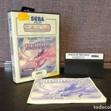 Videojuegos y Consolas: JUEGO HEROES OF THE LANCE MASTER SYSTEM. Lote 81488856