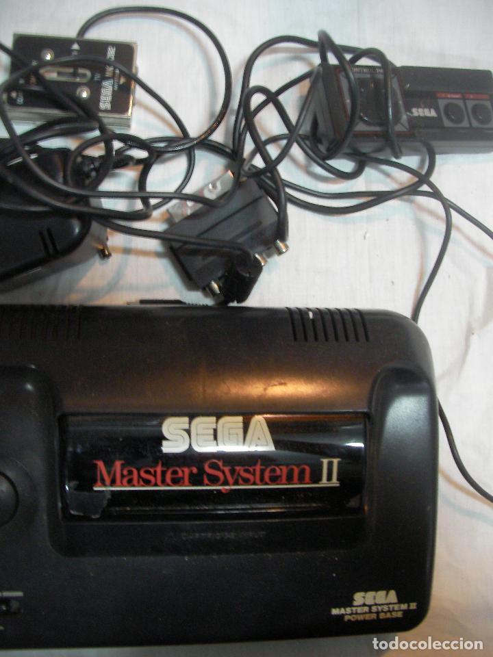 Videojuegos y Consolas: ANTIGUA CONSOLA SEGA MASTER SYSTEM II Y COMPLEMENTOS VARIOS - Foto 3 - 82130824