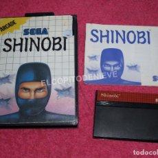 Videojuegos y Consolas: JUEGO PARA SEGA MASTER SYSTEM SHINOBI COMPLETO. Lote 83073628