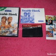 Videojuegos y Consolas: JUEGO PARA SEGA MASTER SYSTEM DOUBLE HAWK COMPLETO. Lote 83073872