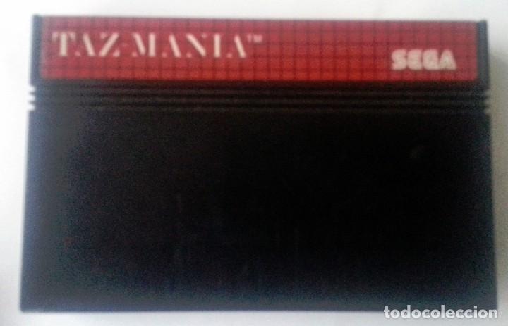 TAZMANIA MASTER SYSTEM (Juguetes - Videojuegos y Consolas - Sega - Master System)