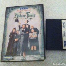 Videojuegos y Consolas: THE ADDAMS FAMILY SEGA MASTER SYSTEM MS KREATEN. Lote 87267036