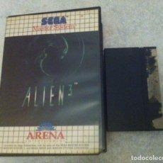 Videojuegos y Consolas: ALIEN 3 SEGA MASTER SYSTEM. Lote 87267096