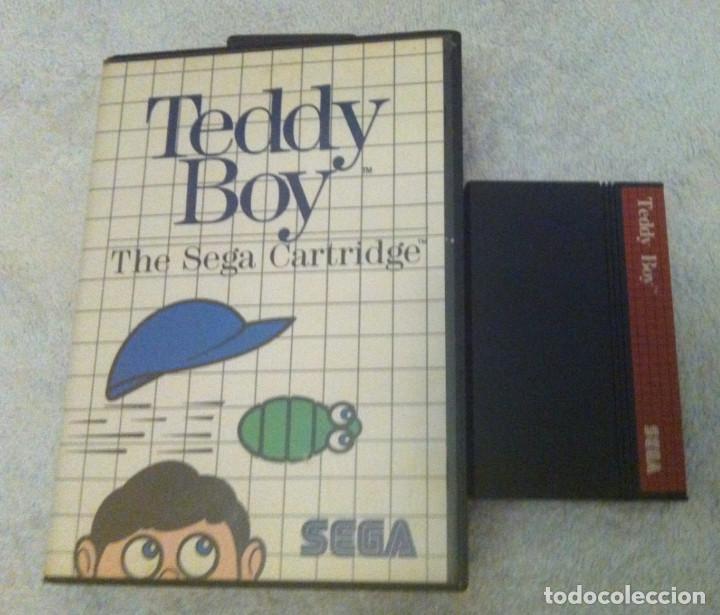 TEDDY BOY SEGA MASTER SYSTEM MS KREATEN (Juguetes - Videojuegos y Consolas - Sega - Master System)