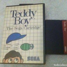 Videojuegos y Consolas: TEDDY BOY SEGA MASTER SYSTEM MS KREATEN. Lote 87267480