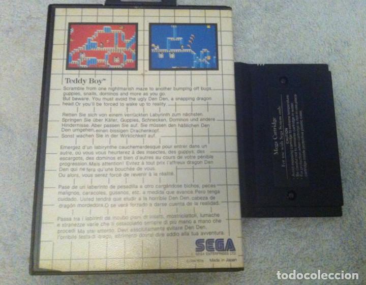 Videojuegos y Consolas: TEDDY BOY SEGA MASTER SYSTEM MS KREATEN - Foto 2 - 87267480