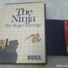 Videojuegos y Consolas: THE NINJA SEGA MASTER SYSTEM MS KREATEN. Lote 87267504
