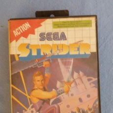 Videojuegos y Consolas: JUEGO SEGA STRIDER ORIGINAL BUEN ESTADO. Lote 92111100
