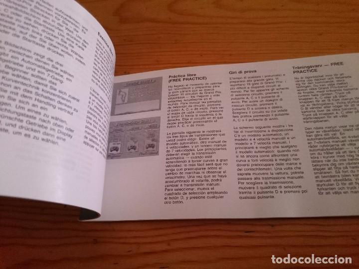 Videojuegos y Consolas: super monaco sega master system manual original - Foto 2 - 93849300