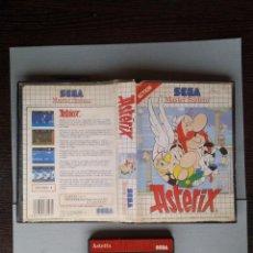 Videojuegos y Consolas: JUEGO SEGA MASTER SYSTEM ASTERIX INCLUYE CAJA BOXED PAL R6613. Lote 96977331