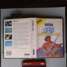 Videojuegos y Consolas: JUEGO SEGA MASTER SYSTEM GOLDEN AXE INCLUYE CAJA BOXED PAL R6614. Lote 122340207