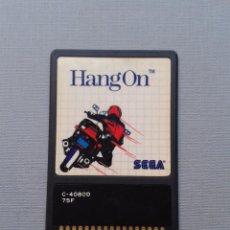 Videojuegos y Consolas: JUEGO SEGA MASTER SYSTEM HANG ON CARD FUNCIONANDO EDICION TARJETA PAL RARO R6683. Lote 98355671