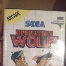 Videojuegos y Consolas: JUEGO OPERATION WOLF MASTER SYSTEM. Lote 98584019