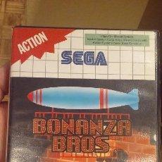 Videojuegos y Consolas: JUEGO BONANZA BROS MASTER SYSTEM. Lote 98584159