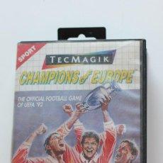Videojuegos y Consolas: CHAMPIONS OF EUROPE // JUEGO SEGA MASTER SYSTEM 1992 VIDEO JUEGO VIDEOJUEGO . Lote 98686107