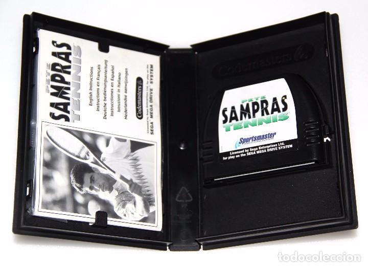 Videojuegos y Consolas: PETE SAMPRAS TENNIS SEGA MEGA DRIVE VIDEOJUEGO - Foto 2 - 98817119