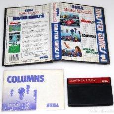 Videojuegos y Consolas: MASTER GAMES I SEGA MASTER SYSTEM VIDEOJUEGO. Lote 99111899