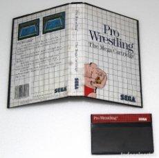 Videojuegos y Consolas: PRO WRESTLING SEGA MASTER SYSTEM VIDEOJUEGO. Lote 99112007