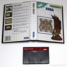 Videojuegos y Consolas: SEGA CHESS SEGA MASTER SYSTEM VIDEOJUEGO. Lote 99191911