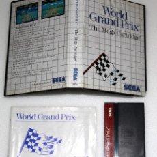 Videojuegos y Consolas: WORLD GRAND PRIX SEGA MASTER SYSTEM VIDEOJUEGO. Lote 99191935