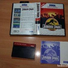 Videojuegos y Consolas: SMS0003 -SEGA MASTER SYSTEM JURASSIC PARK. Lote 99315139