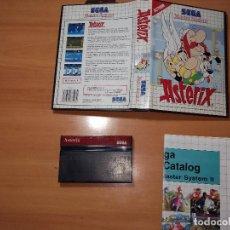 Videojuegos y Consolas: SMS0002 -SEGA MASTER SYSTEM ASTERIX. Lote 99315207