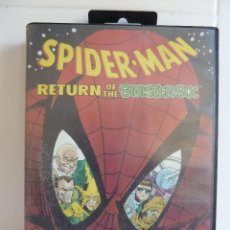 Videojuegos y Consolas: JUEGO MASTER SYSTEM - SPIDER-MAN - RETURN OF THE SINISTER SIX. Lote 99559879