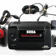 Videojuegos y Consolas: CONSOLA SEGA MASTER SYSTEM II + JOYSTICK SPEEDKING +SEGA SS-55 + ADAPTADOR DE CORRIENTE. Lote 103327771