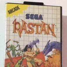 Videojuegos y Consolas: CAJA DEL JUEGO SEGA MASTER SYSTEM RASTAN. Lote 105320479