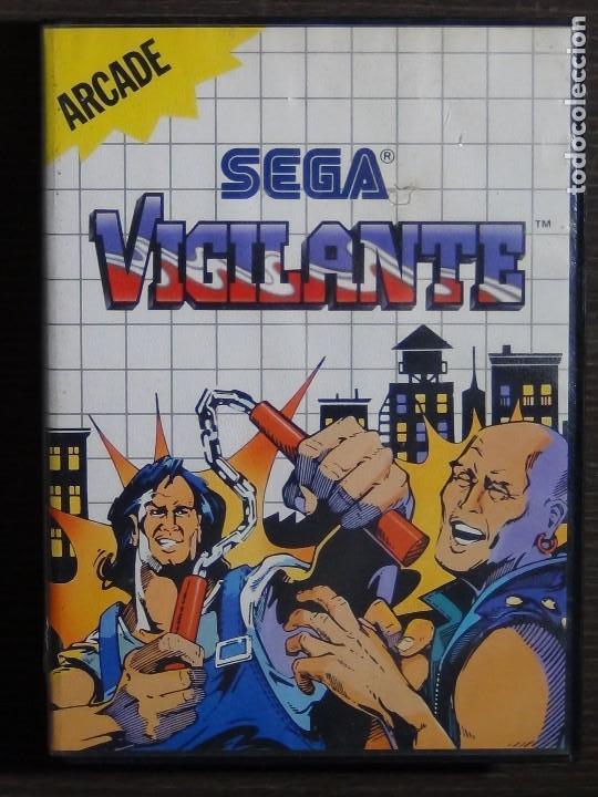 JUEGO SEGA MASTER SYSTEM VIGILANTE (Juguetes - Videojuegos y Consolas - Sega - Master System)
