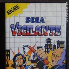 Videojuegos y Consolas: JUEGO SEGA MASTER SYSTEM VIGILANTE. Lote 107291579