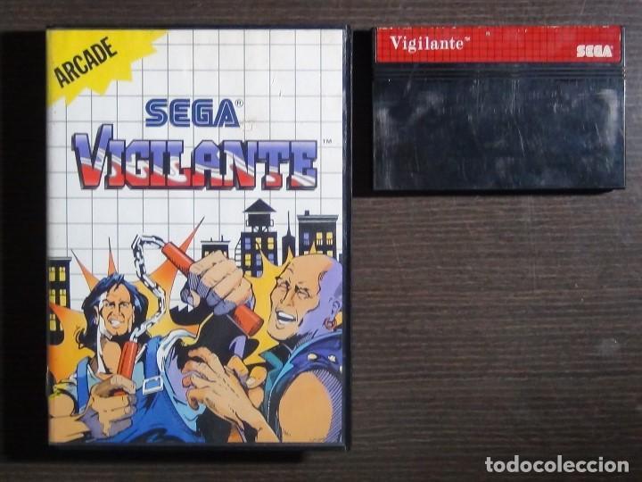 Videojuegos y Consolas: JUEGO SEGA MASTER SYSTEM VIGILANTE - Foto 2 - 158009174