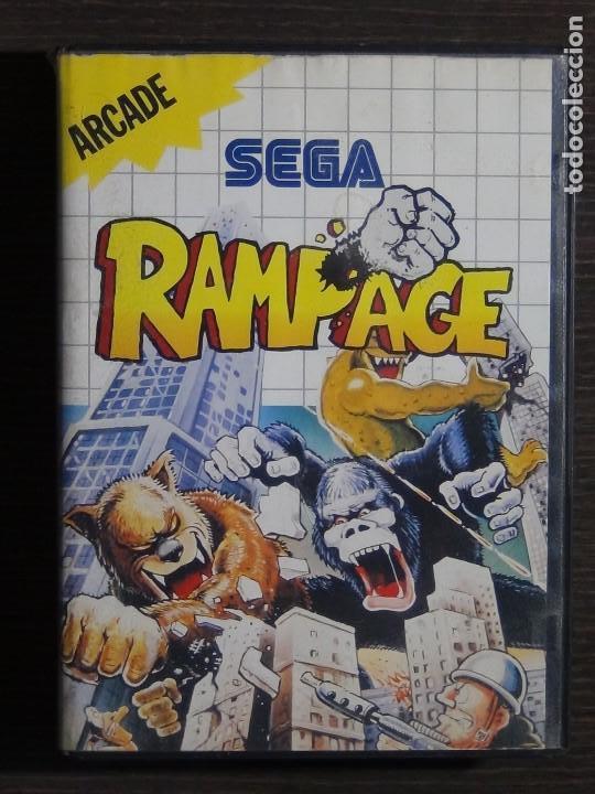 Juego Sega System Rampage Comprar Videojuegos Y Consolas Master