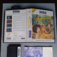 Videojuegos y Consolas: JUEGO SEGA MASTER SYSTEM DISNEY JUNGLE BOOK COMPLETO EN CAJA CIB PAL VER!!! R7023. Lote 192144310