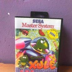 Videojuegos y Consolas: SAPO XULÉ: S.O.S. LAGOA POLUIDA - MUY RARO - JUEGO PORTUGUES MASTER SYSTEM III. Lote 111275863