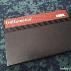 Videojuegos y Consolas: JUEGO GOLFMANIA MASTER SYSTEM. Lote 112769491